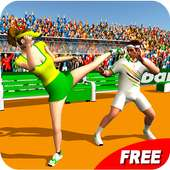 🎾 Tennis Players Fight 2016 on 9Apps