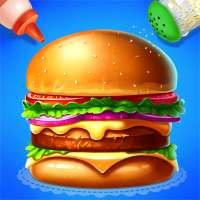 🍔🍔Make Hamburger - Yummy Kitchen Cooking Game on 9Apps