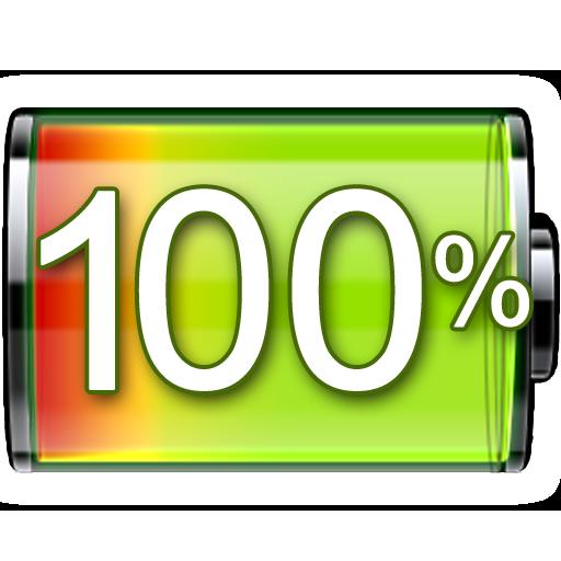 battery indicator free أيقونة