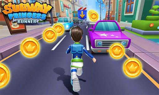 Subway Princess Runner screenshot 7