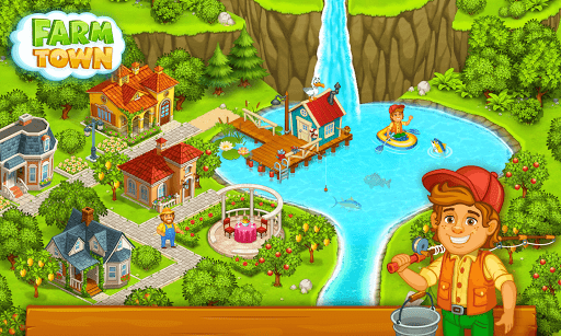 Farm Town: Happy farming Day & food farm game City screenshot 7