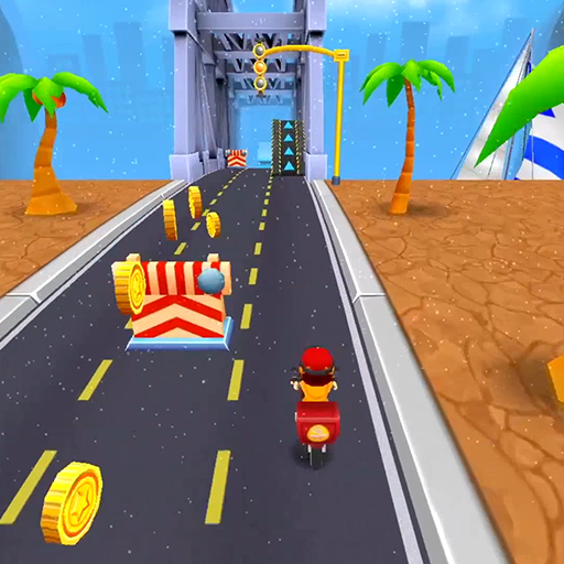 Subway Scooters Free -Run Race أيقونة