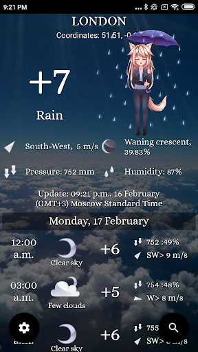 Weather: Any place on earth! 1 تصوير الشاشة