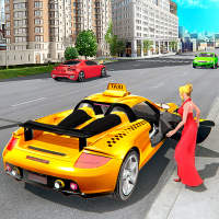 City Taxi Driving Simulator - Free Taxi Games 2021 on 9Apps