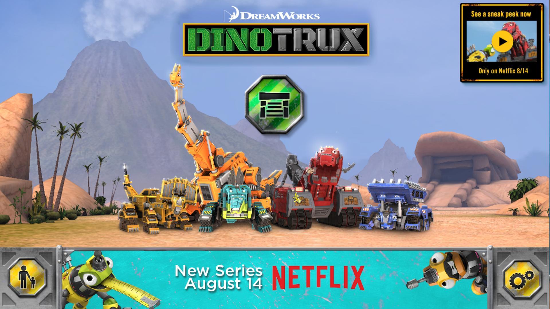 DreamWorks Dinotrux 1 تصوير الشاشة