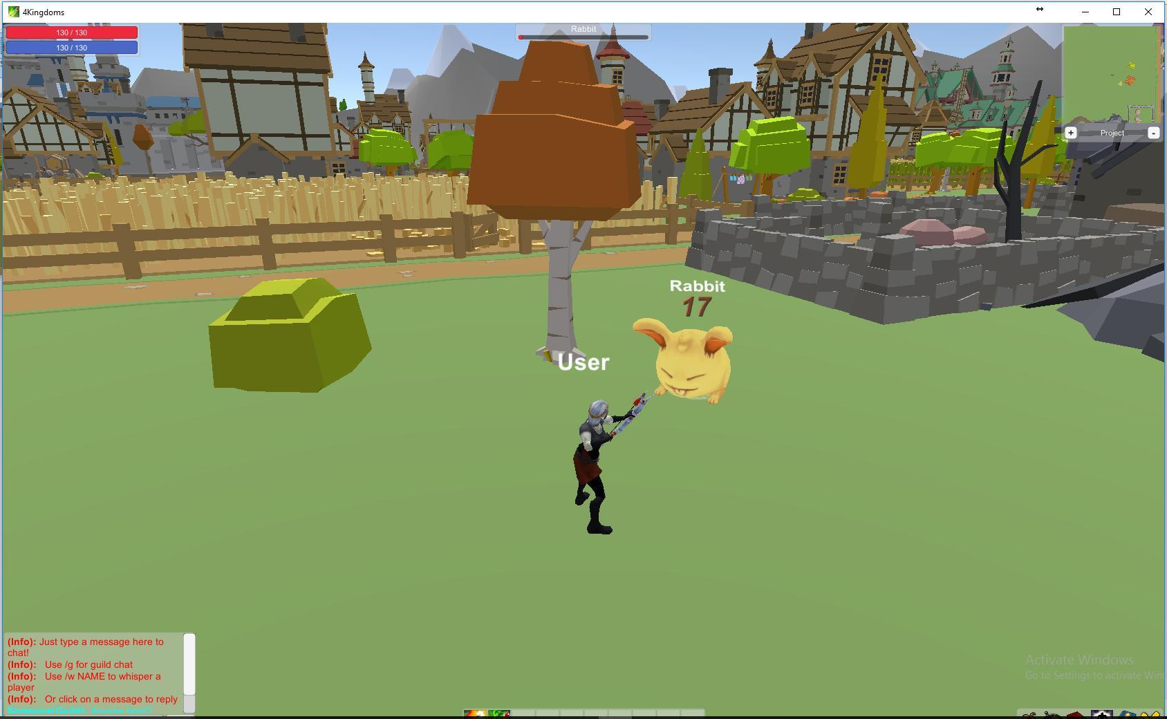 4 Kingdoms MMORPG Online screenshot 2