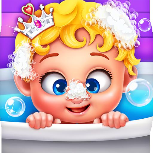 الحلو طفلة الأميرة السحرية أيقونة