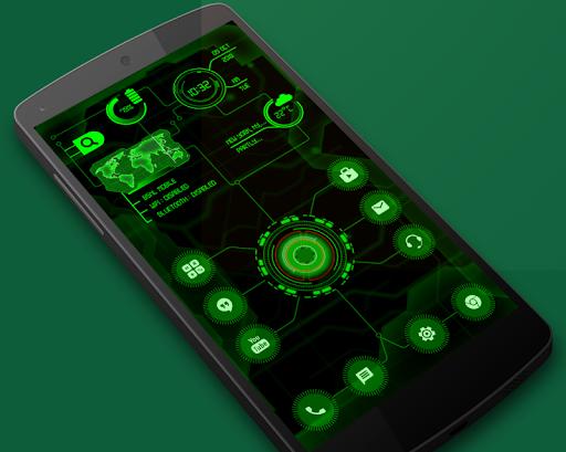 Circuit Launcher 2021 App lock, Hitech Wallpaper 11 تصوير الشاشة