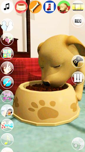 甘い話す子犬:おかしい犬 - Pet Games Free screenshot 4