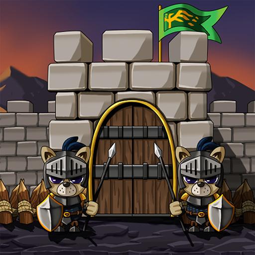 ملك قلعة الدفاع أيقونة