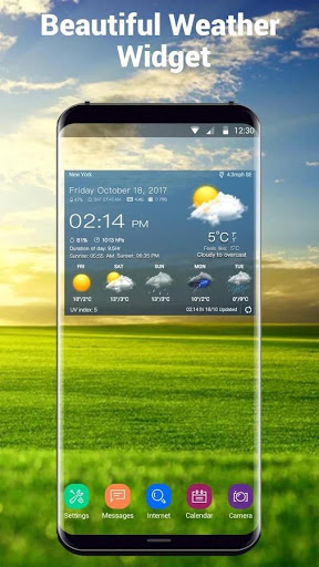 القطعة توقعات الطقس 1 تصوير الشاشة
