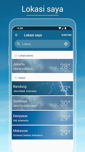 Cuaca & Radar screenshot 3