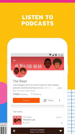 SoundCloud - Play Music, Audio & New Songs 7 تصوير الشاشة