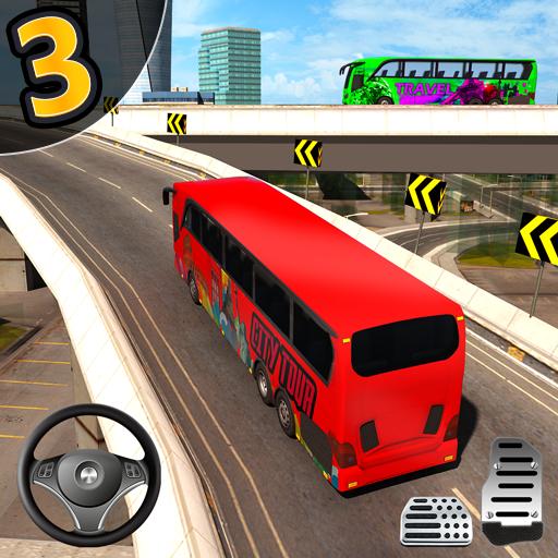 Şehir Otobüs Simülatör 3 BOYUTLU - bağımlılık oyun icon
