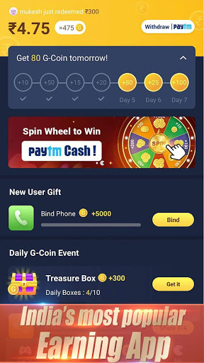 GALO Earn money Play games screenshot 3
