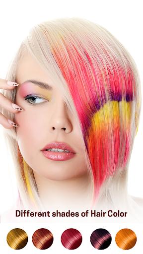 Hair Color Changer screenshot 1
