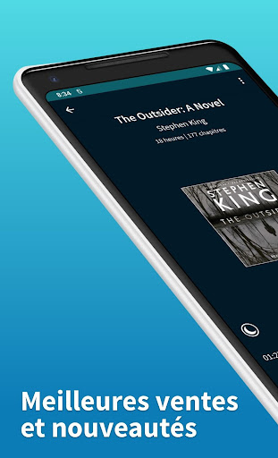Scribd : livres audio et numériques screenshot 2