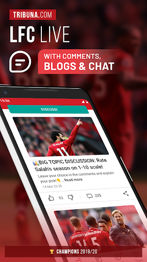 LFC Live – Unofficial app for Liverpool fans скриншот 1