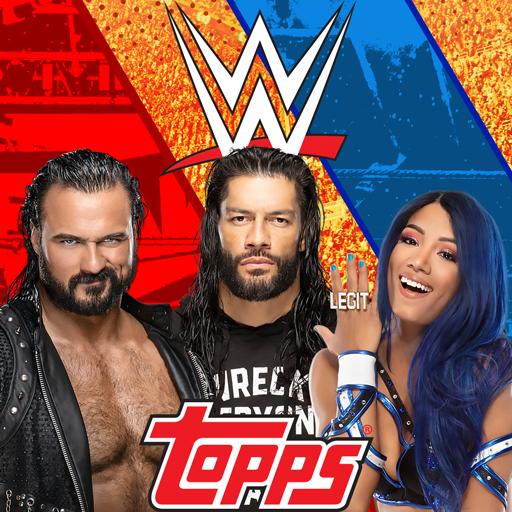 Topps® WWE SLAM: Card Trader أيقونة