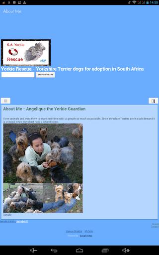 SA Yorkie Rescue 11 تصوير الشاشة
