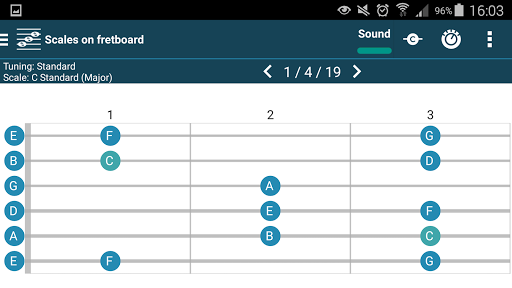 smart Chord & tools (гитара,.. скриншот 13