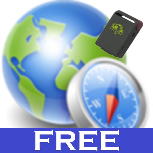 GPS Tracker Car TK SMS Free أيقونة