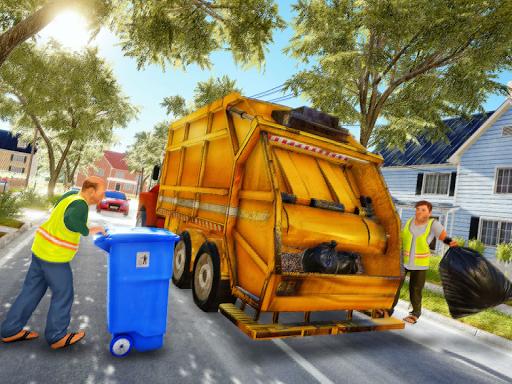 Garbage Truck Driving Simulator - Truck Games 2020 screenshot 7