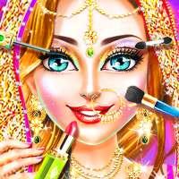 Salon de mariage traditionnel - Jeu de maquillage on 9Apps