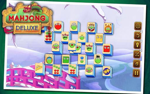 Mahjong Deluxe 15 تصوير الشاشة