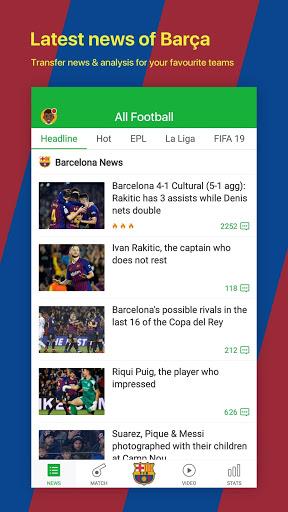 All Football - Barcelona News & Live Scores screenshot 1