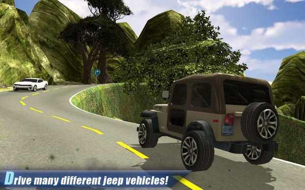 Off Road 4x4 Hill Jeep Driver screenshot 2