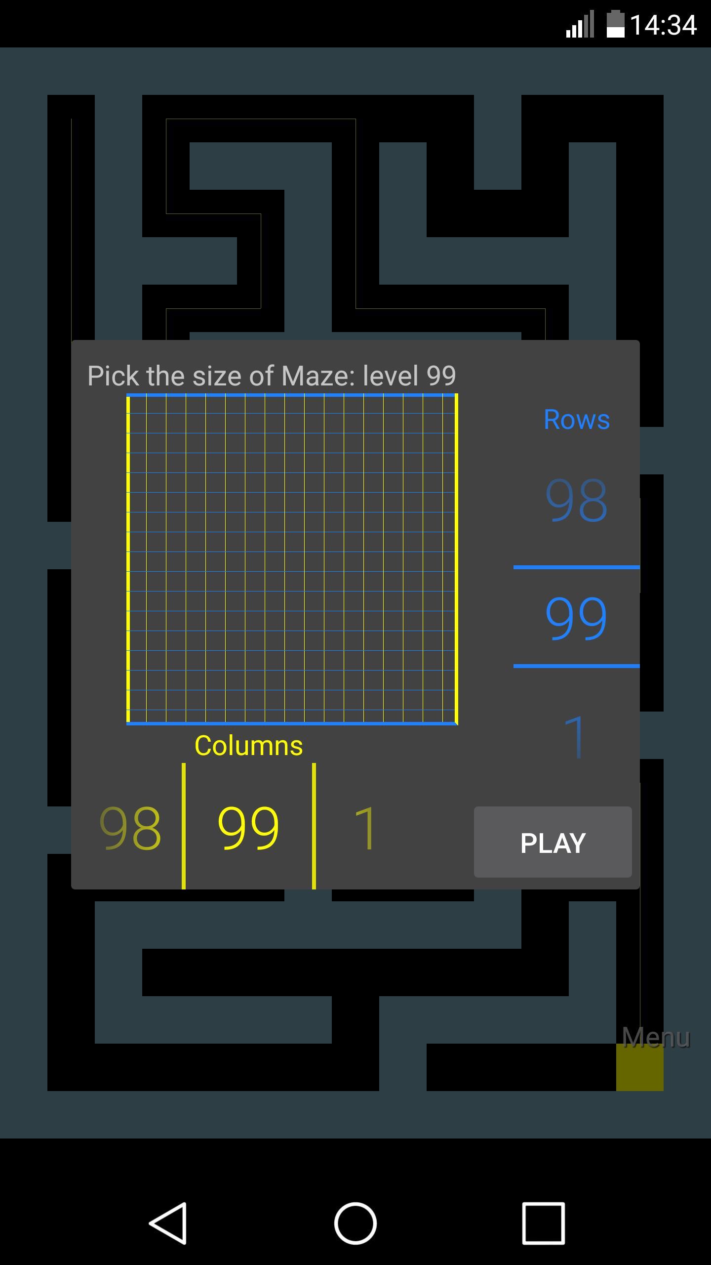 Maze 5 تصوير الشاشة