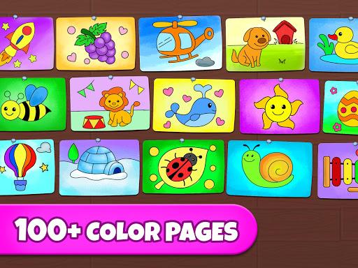 Coloring Games: Coloring Book, Painting, Glow Draw screenshot 11