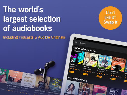 Audible: audiobooks, podcasts & audio stories screenshot 8