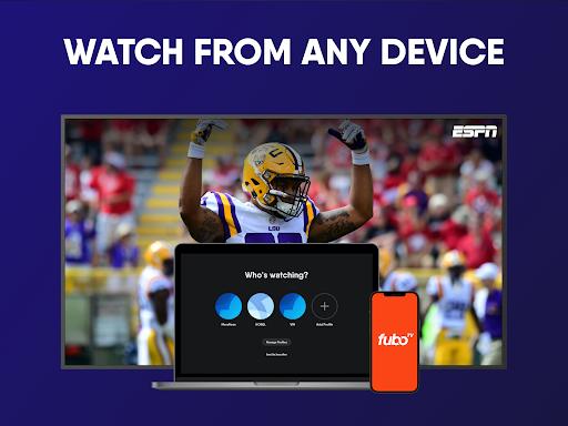 fuboTV: Watch Live Sports, TV Shows, Movies & News screenshot 16
