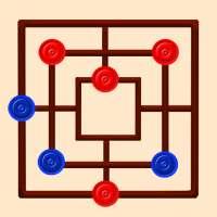 Align It | Nine Men's Morris | Mills | Char Bhar on 9Apps