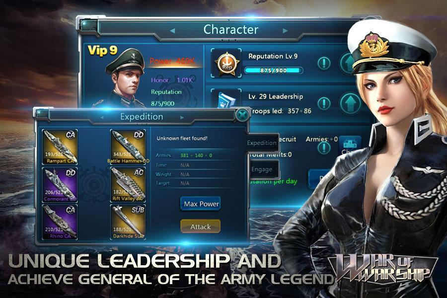 War of Warship screenshot 1