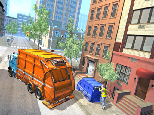 Garbage Truck Driving Simulator - Truck Games 2020 screenshot 11