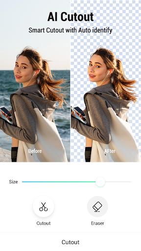 PickU: Photo Cut Out Editor & Background Editor screenshot 1