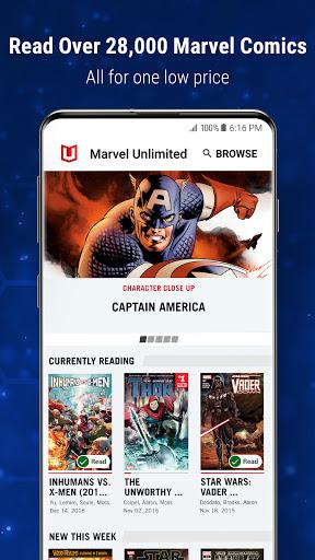 Marvel Unlimited 3 تصوير الشاشة