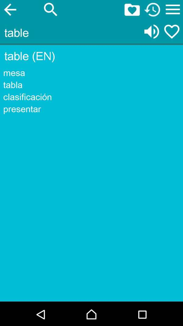 Spanish English Dictionary screenshot 3
