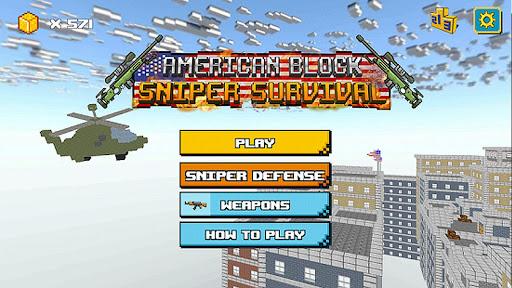 American Block Sniper Survival screenshot 5