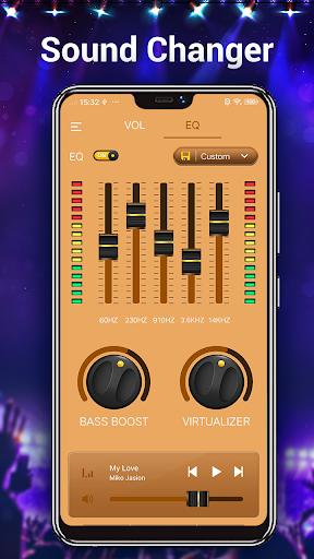 Efek musik Equalizer-Audio screenshot 8