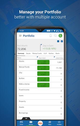 Moneycontrol - Share Market | News | Portfolio 2 تصوير الشاشة