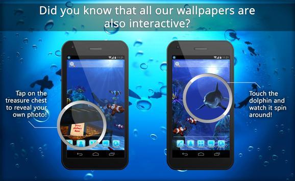 UR 3D Ocean Dolphin Shark HD screenshot 2