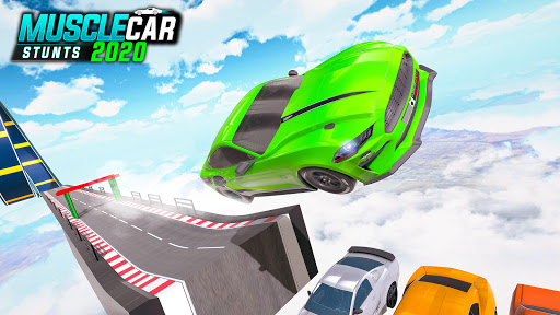 Muscle Car Stunts 2020: Mega Ramp Stunt Car Games screenshot 7