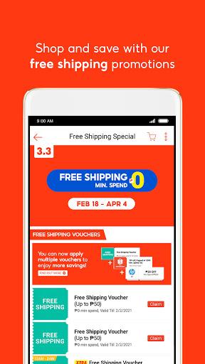 Shopee 3.3 Mega Shopping Sale 3 تصوير الشاشة