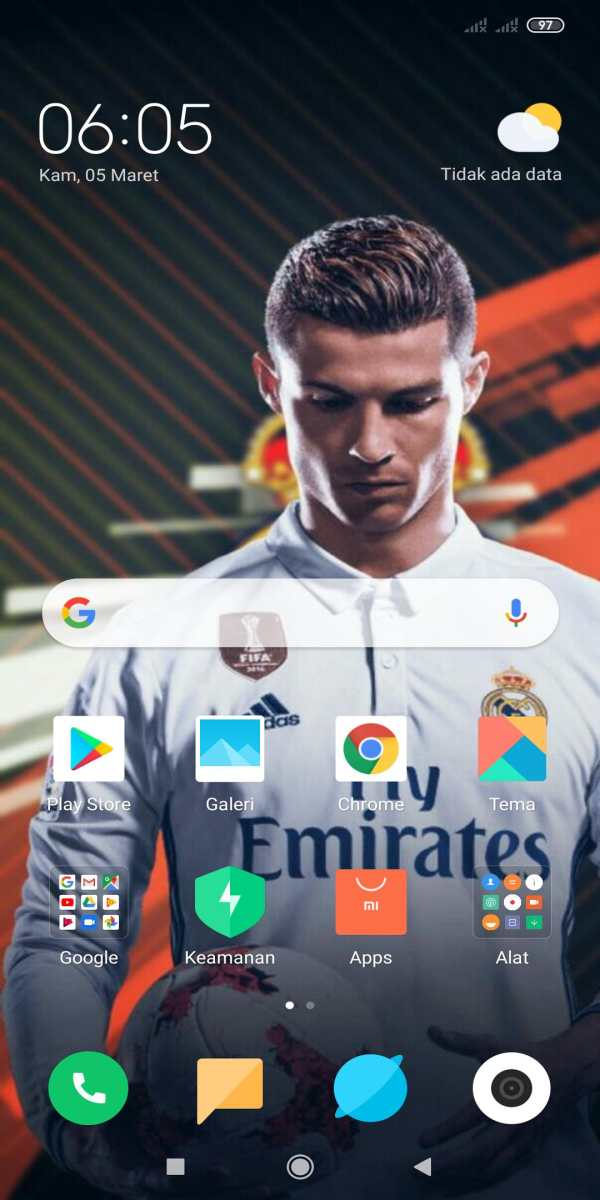 Ronaldo Wallpaper HD 9 تصوير الشاشة