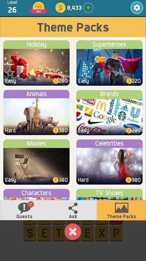 Pictoword: Fun Word Games & Offline Brain Game screenshot 5