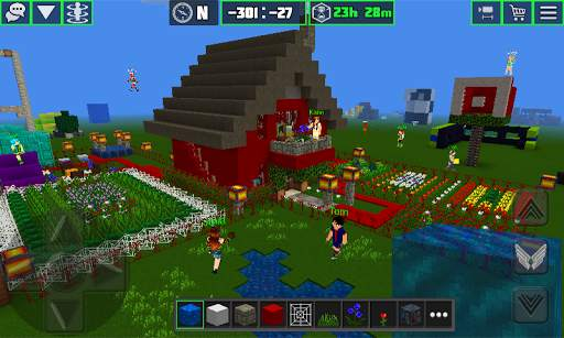 Multicraft: Block Craft Mini World 3D screenshot 2